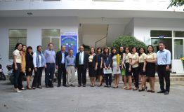 Trưởng đoàn đại diện UNICEF Việt Nam đến thăm và làm việc tại Trung tâm