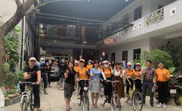 Diễu hành xe đạp tuyên truyền chào mừng Ngày Công tác xã hội Việt Nam 25/3/2021